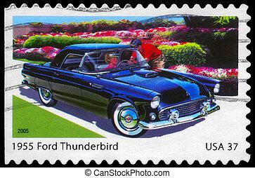 USA - CIRCA 2005 Ford Thunderbird - USA - CIRCA 2005: A...