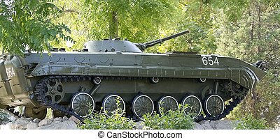 Infantry fighting vehicle of the first modification