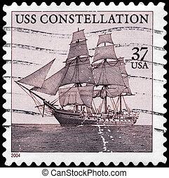USA - CIRCA 2004 Constellation