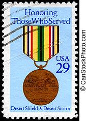 USA - CIRCA 1991 Medal