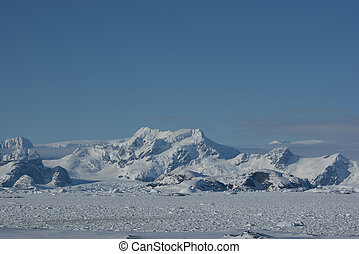 Mountains of Antarctica - 6 - The mountains on the Antarctic...
