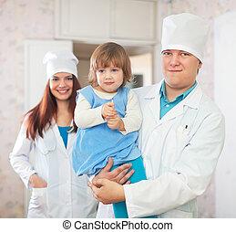 護士, 醫生, 孩子