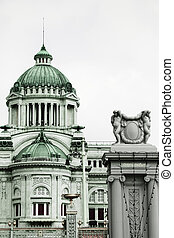 italiano, architettura, Anantasamakhom, trono, salone,...