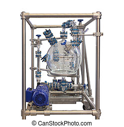 Glass Chemical Reactor - The Laboratory Glass Chemical...