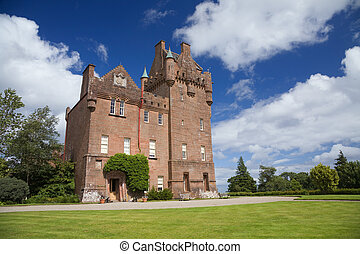 brodick castle - Brodick Castle in Arran on a summer day
