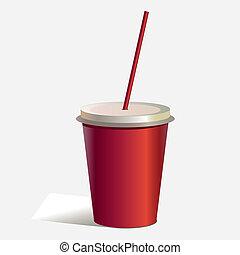 cola drink vector eps 10