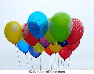 Multicolor, 气球