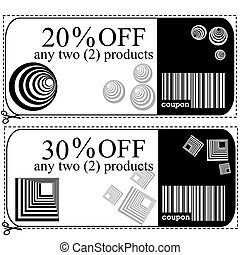 Voucher cards for shops