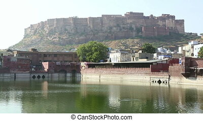Amber fort - Magnificent Amber fort. Jaipur, Rajasthan,...