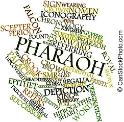 Pharaoh - Abstract word cloud for Pharaoh with related tags...