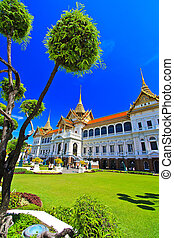 Grand palace in bangkok, THAILLAND