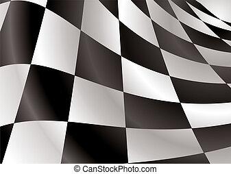 checkered flag revs