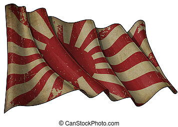 Japan's Imperial Navy Historic Flag
