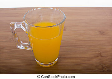 glasses of orange juice