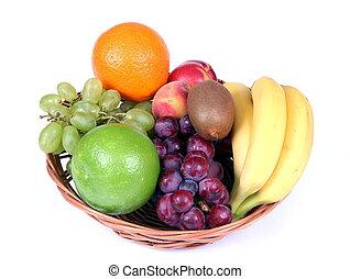 basket full of fruits
