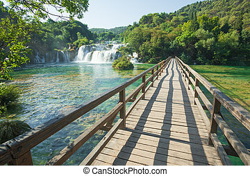NP Krka - Krka National Park is one of the eight national...
