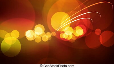 animated screen saver golden color with a flash and back...