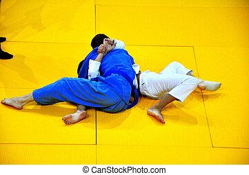 Judo, competiciones