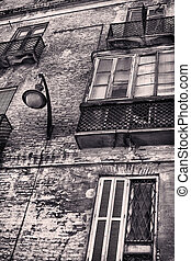 Decadence - Old building in town