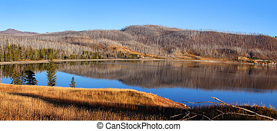 Madison arm lake in Montana - Madison arm lake near west...