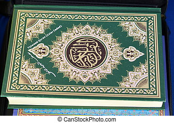 The Holy Quran Book Cover - The Holy Quran Tajweed & Tafseer