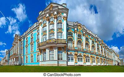 Catherine Palace in Tsarskoye Selo (Pushkin), St....