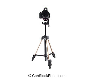 tripod for video and photo shoot with a camera