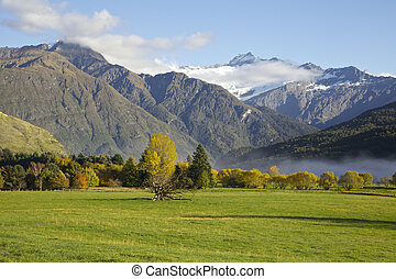 Rob Roy Glacier - View of the Rob Roy Glacier near Wanaka...