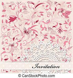 card design vintage