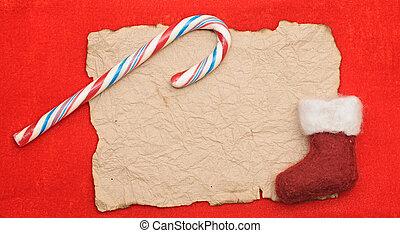 navidad, Plano de fondo, rojo