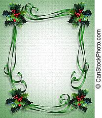 フレーム, ボーダー, クリスマス
