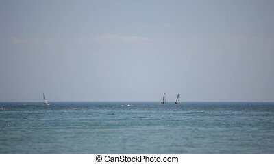 Windsurfing - Windsurf. Black Sea. Locked down, HD1080 - 30p