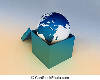 Blue Earth in a Box