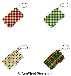 Christmas Patterned Gift Tags