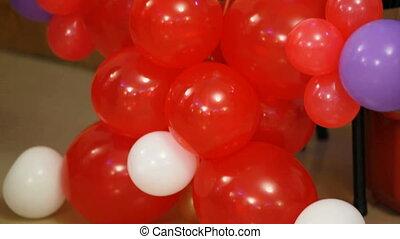 Balloon clown - Clown made of different balloons