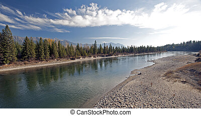 Rocky Mountains and Kootenay River by Fairmont Hot Springs