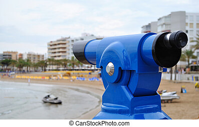 Payment monocular