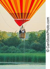 Mondial hot Air Ballon reunion in Lorraine France - CHAMBLEY...