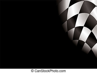 checkered blank - checkered flag style background with room...