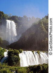 Falls Marmore - Terni - Umbria - A spectacular view of the...