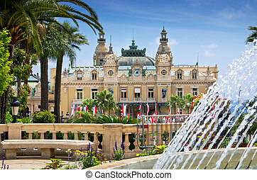 Casino, Monte Carlo, Monaco - Casino house in Monaco. French...