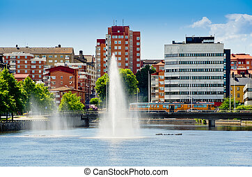Norrkoping Sweden - Norrkoping city Ostergotland, Sweden...