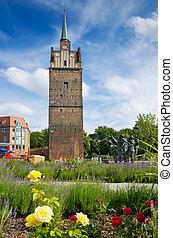 Kropeliner Tor Rostock, Germany - Kroepeliner Tor - medieval...