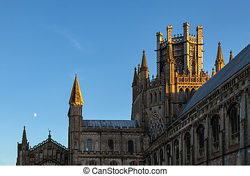 Exterior view of Ely Cathedral
