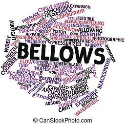Bellows - Abstract word cloud for Bellows with related tags...