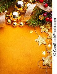 Art Christmas greeting card - Christmas greeting card