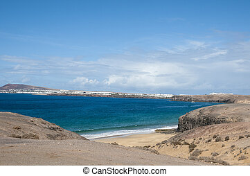 Papagayo beach is one of the best beaches on Lanzarote