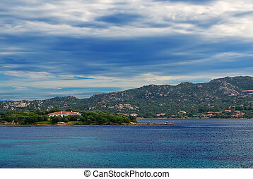 Gallura clouds and sea - Gallura coastline covered by an...
