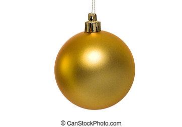 金, クリスマス, 安っぽい飾り