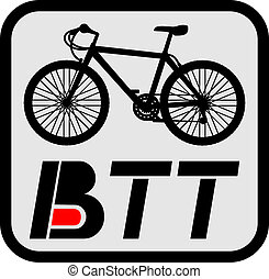 Icon BTT - Creative design of icon BTT